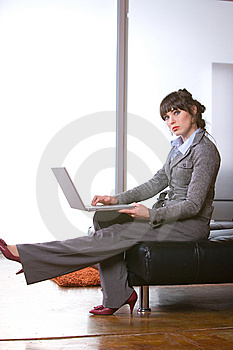 Business Woman Modern Office Stock Photography - Image: 8652322