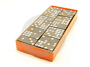 Box Of Dominoes Stock Images - Image: 8652344