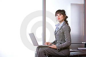 Business Woman Modern Office Stock Photography - Image: 8652352
