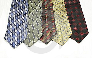 Different Colored Ties Royalty Free Stock Photos - Image: 8652368