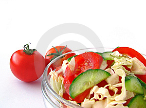 Salada Do Legume Fresco Fotografia de Stock Royalty Free - Imagem: 8652507