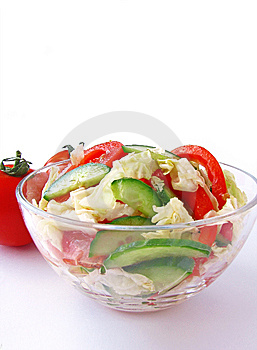 Fresh Vegetable Salad Stock Images - Image: 8652534