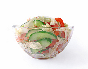 Fresh Vegetable Salad Stock Images - Image: 8652544