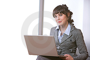 Business Woman Modern Office Stock Photo - Image: 8652630