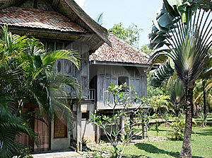 Malaysian Estate Of XIX Century Royalty Free Stock Image - Image: 8652696