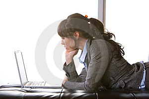 Business Woman Modern Office Stock Photography - Image: 8652872