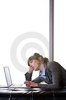 Business Woman Modern Office Stock Photo - Image: 8652940