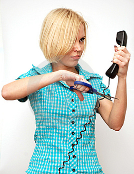 Pesky Phone Stock Photography - Image: 8652972