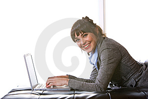 Business Woman Modern Office Stock Photo - Image: 8653020
