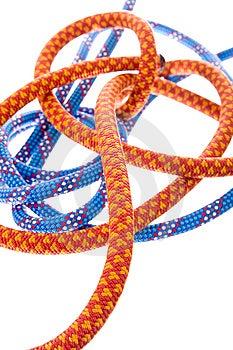 Climbing Rope Royalty Free Stock Image - Image: 8653156