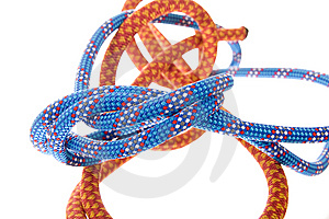 Climbing Rope Royalty Free Stock Images - Image: 8653179