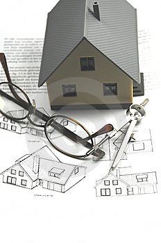 Building A House Stock Photo - Image: 8653340