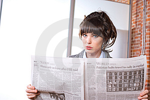Business Woman In Modern Office Royalty Free Stock Photo - Image: 8653345
