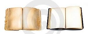 Books Isolated On White Royalty Free Stock Photography - Image: 8653687