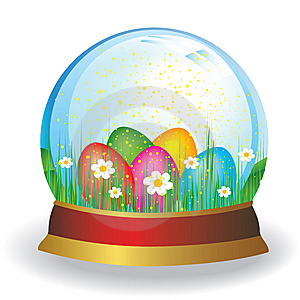 Color Egg Royalty Free Stock Images - Image: 8653759