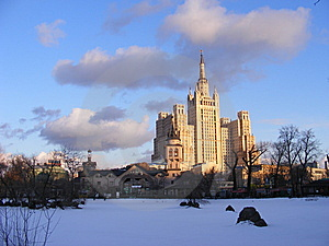March. Moscow. Stock Image - Image: 8653941