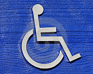 Handicap Woodgrain Royalty Free Stock Photo - Image: 8653995