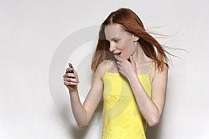 The Girl Stock Image - Image: 8654051