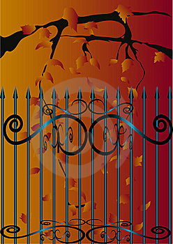 Gate Stock Images - Image: 8654054