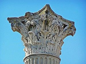 Pompeii Corinthian Column Stock Photo - Image: 8654070