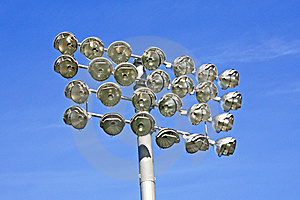 Stadium Lights Stock Images - Image: 8654084