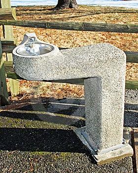 Springbrunnvatten Arkivbild - Bild: 8654112