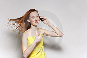 The Girl Royalty Free Stock Images - Image: 8654119