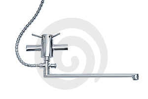 Modern Metal Faucet Stock Photos - Image: 8654183