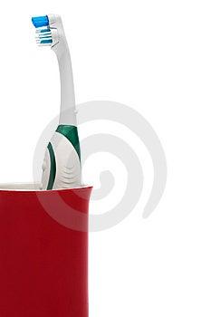 Cepillo De Dientes Foto de archivo libre de regalías - Imagen: 8654285