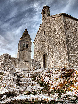 Stone Church Royalty Free Stock Photos - Image: 8654488