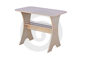 Wooden Table Royalty Free Stock Image - Image: 8654636