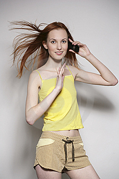 The Girl Stock Image - Image: 8654711