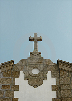 Church Cross Sky Royalty Free Stock Images - Image: 8655869