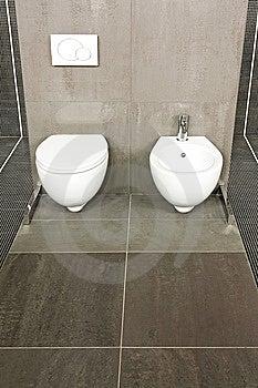 Grey WC Stock Photos - Image: 8655873