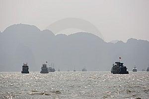 Ha Long Bay, Northern Vietnam Royalty Free Stock Image - Image: 8655936