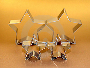 Cookie Cutters Royalty Free Stock Photography - Image: 8656267