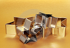 Cookie Cutters Royalty Free Stock Image - Image: 8656286