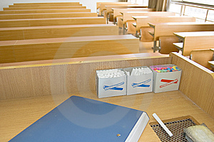 University Classrooms Stock Photo - Image: 8656630
