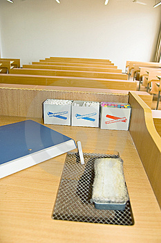 University Classrooms Royalty Free Stock Image - Image: 8656636