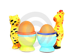 Egg Cups Stock Image - Image: 8656711