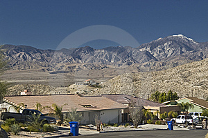 Desert Hot Springs Landscape Stock Photos - Image: 8656713