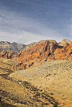 Red Rock Canyon Landscape In Nevada Royalty Free Stock Photography - Image: 8656717