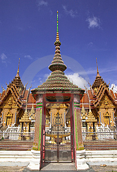 Traditional Thai Style Architecture Stock Photography - Image: 8656752