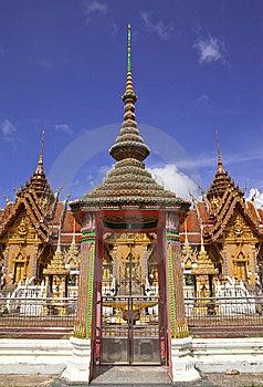 Traditionele Thaise Stijlarchitectuur Stock Fotografie - Afbeelding: 8656752