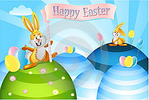 Easter Rabbits Stock Photos - Image: 8657053