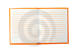 Notebook With Empty Pages Royalty Free Stock Image - Image: 8657376