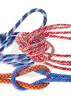 Climbing Ropes Royalty Free Stock Image - Image: 8657406