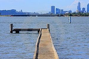 Bridge In Lake Royalty Free Stock Image - Image: 8657486