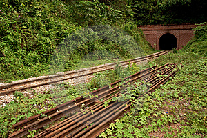 Train Tunnel Stock Image - Image: 8657561