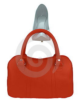 Women's Bag And Shoe Stock Photos - Image: 8657643